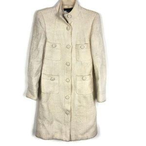 Zara Women's Button Down Wool coat Jacket 999